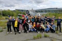 АТЦ Дельта-Авиа занятия с подростками из центра детского отдыха Северный Артек