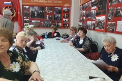 Ветераны-пенсионеры провели мероприятие, посвящённое дню семьи, любви и верности